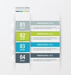 Label design green blue gray color vector