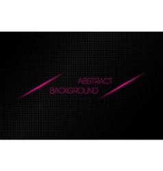 Metallic black abstract background vector
