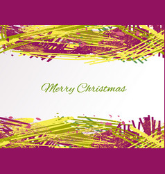 holiday-hatching-violet-yellow-olive vector image
