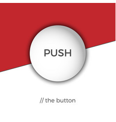 push the button vector image
