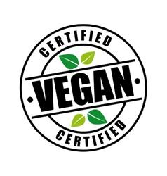 Vegan menu design vector