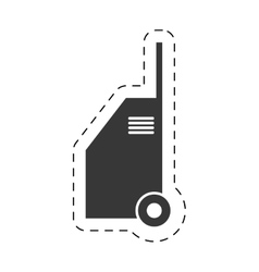 Hand car cleaning equipment pictogram vector