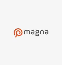 Search internet logo icon design finder vector