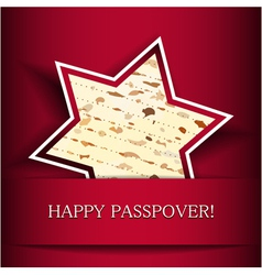 Happy passover vector