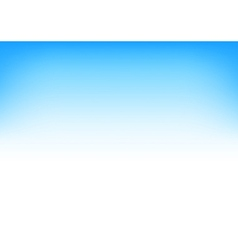 White Blue Sky Gradient Background vector image