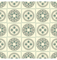 Seamless bright pattern oriental style vector