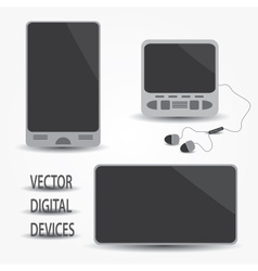 Digital devices eps10 vector