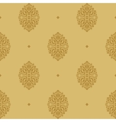 Vintage seamless background baroque vector image vector image