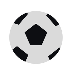Classic football icon vector