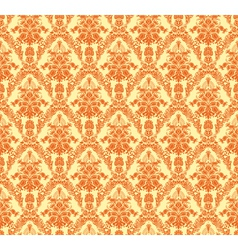 Vintage damask seamless background vector