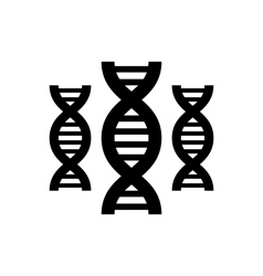 Pictogram of dna vector