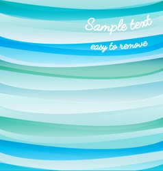 background water waves eps vector image vector image
