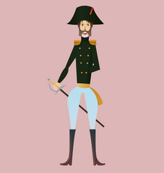 digital french napoleonic soldier vector image