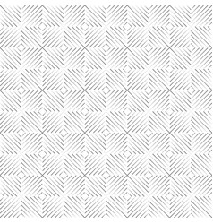 seamless isolated triangle vector image vector image