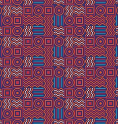 Background circles squares wave vector