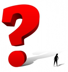 question vector image vector image