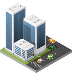 Transport urban road vector image