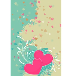 Romantic valentine background vector