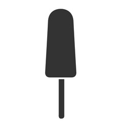 isolated popsicle icon vector image
