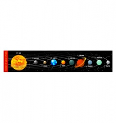planet of solar system vector image