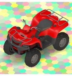 quad bike ATV isometric vector image