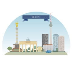 Berlin vector image
