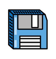 Floppy disk storage information vector