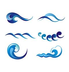 water vector vector image