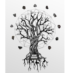 Abstract gothic vector image vector image