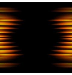Conceptual dark orange stripes background vector image vector image