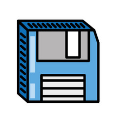 Floppy disk storage information vector