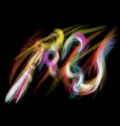 Light painting vector