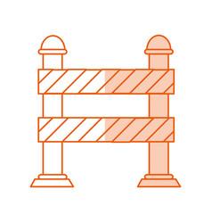 Monocromatic street sign design vector