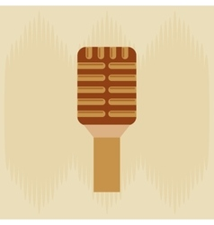Microphone icon design vector