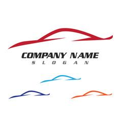 Auto car logo template vector