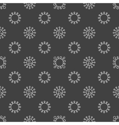 Bacterium seamless pattern vector