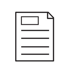 Clipboard icon on white background clipboard vector
