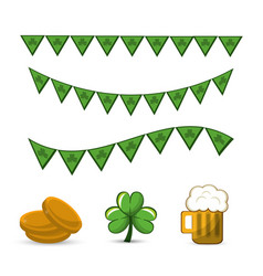 Happy st patricks day icon vector