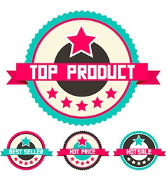 Top Product - Best Seller - Hot Price and Hot Sale vector image