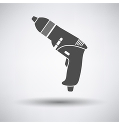 Electric drill vector image