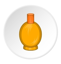 Packaging for perfume icon cartoon style vector image vector image