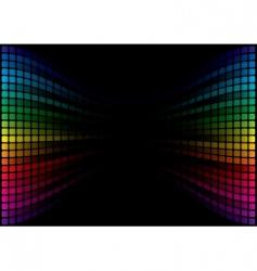 spectrum background vector image vector image