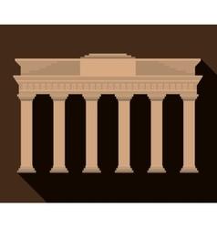 Brandenburg Gate Germany graphic vector image