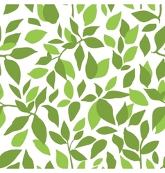 Color leaves pattern vector