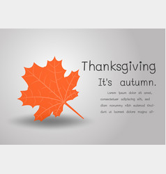 happy thanksgiving background with text space for vector image vector image