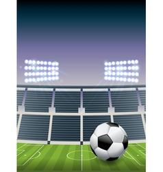 Soccer football stadium vector