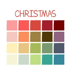 Christmas colorful color tone vector