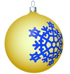 Cristmas ball vector image