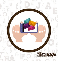 Message design vector