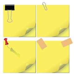 office papers vector image